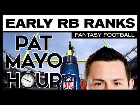 2017 Fantasy Football: Early RB Rankings & Draft Recap