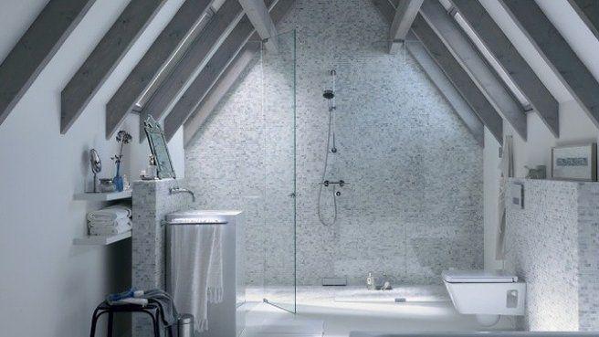douche a l'italienne hauteur sous plafond combles