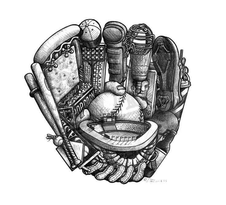Best 25+ Baseball tattoos ideas on Pinterest   Softball ...