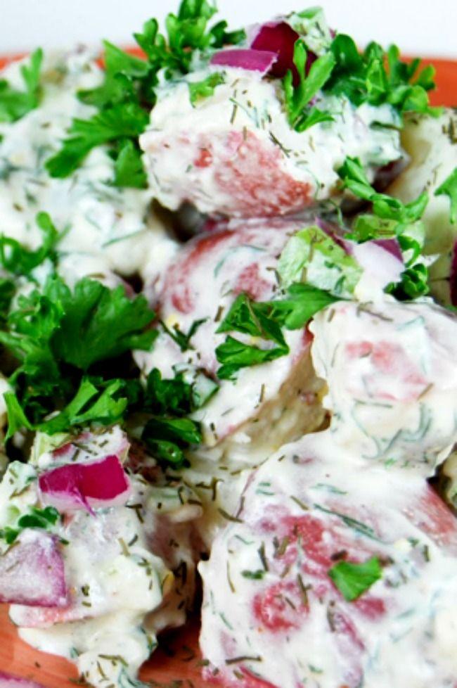 Ina Garten's Incredible Potato Salad...this is sooooo delicious!