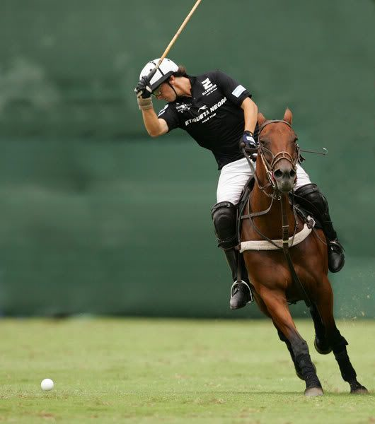 POLO NEARSIDE BACKHAND