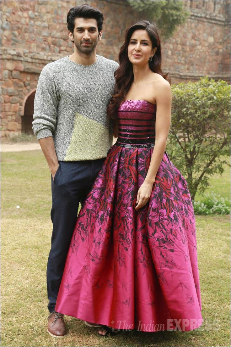 Katrina Kaif and Aditya Roy Kapur at Lodhi Garden, Delhi during release of the song #Pashmina from #Fitoor. #Bollywood #Fashion #Style #Beauty #Hot #Cute #Handsome