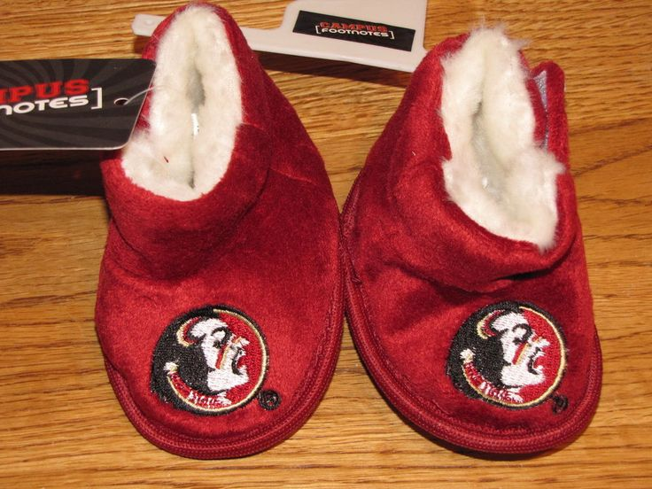 Florida State Seminoles college baby shoes size 4 Campus Footnotes Team FSU*^ #FloridaState