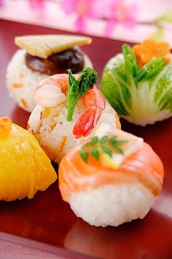 Salmon Temarizushi (Ball-Shaped Sushi) Recipe — Dishmaps