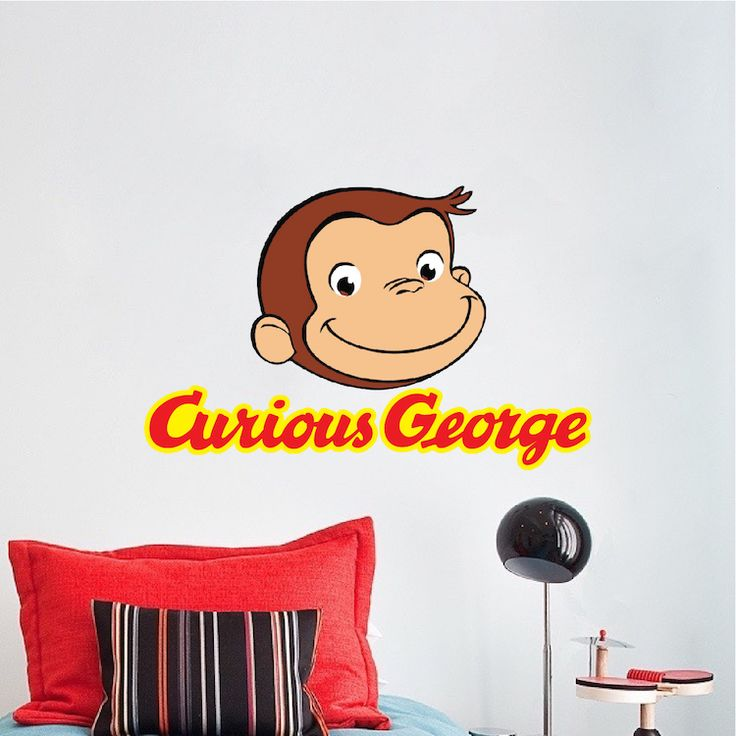 25 best ideas about monkey room on pinterest monkey for Curious george wall mural