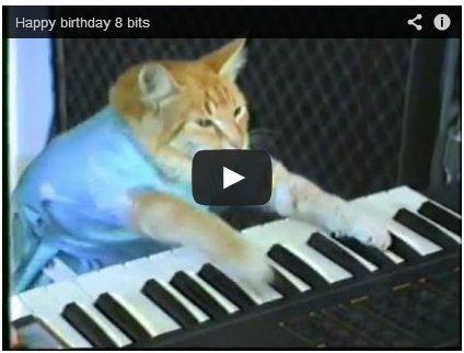 友達に誕生日ソングを猫に演奏してもらったよwwwwww Happy birthday 8 bits | A!@Atsuhiko Takahashi  (via http://attrip.jp/111646/ )