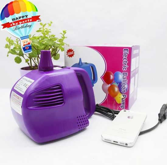 Free shipping 400w Electric Balloon Pump, air inflator pump, air blower for balloon with 1 nozzel#pump