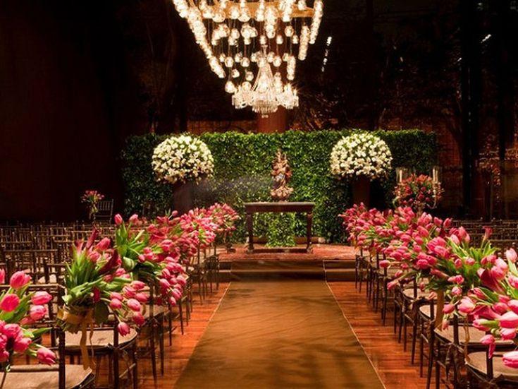 Casamento em rosa e marrom: dupla compõe diferentes estilos de decoração - Casa - GNT