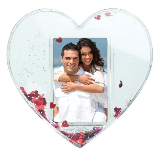 Heart Photo Snow Globe *** Unbelievable  item right here! : Home Decor Snow Globes