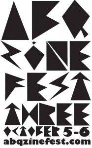 ABQ Zine Fest October 5-6, 2013!