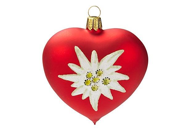 Edelweiss Flower Ornament on OneKingsLane.com