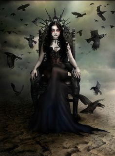 Mania, in ancient Greek religion, is the a spirit goddess of insanity, madness, and crazed frenzy and the dead