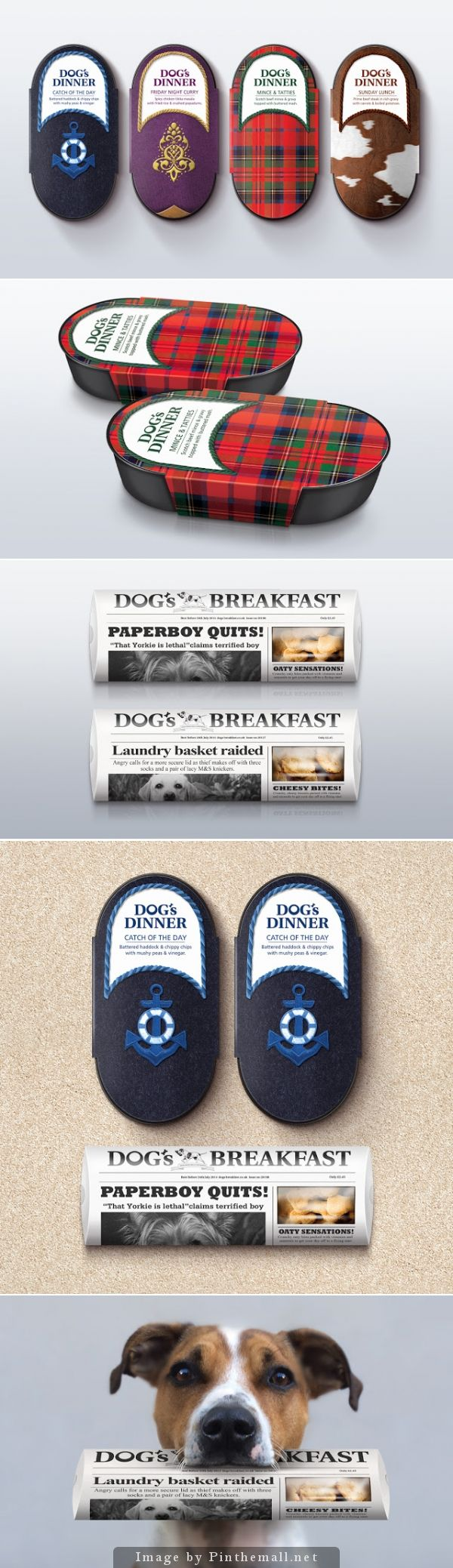 #Dog's Dinner (Concept), Creative Agency: Afterhours - http://www.packagingoftheworld.com/2014/10/dogs-dinner-concept.html