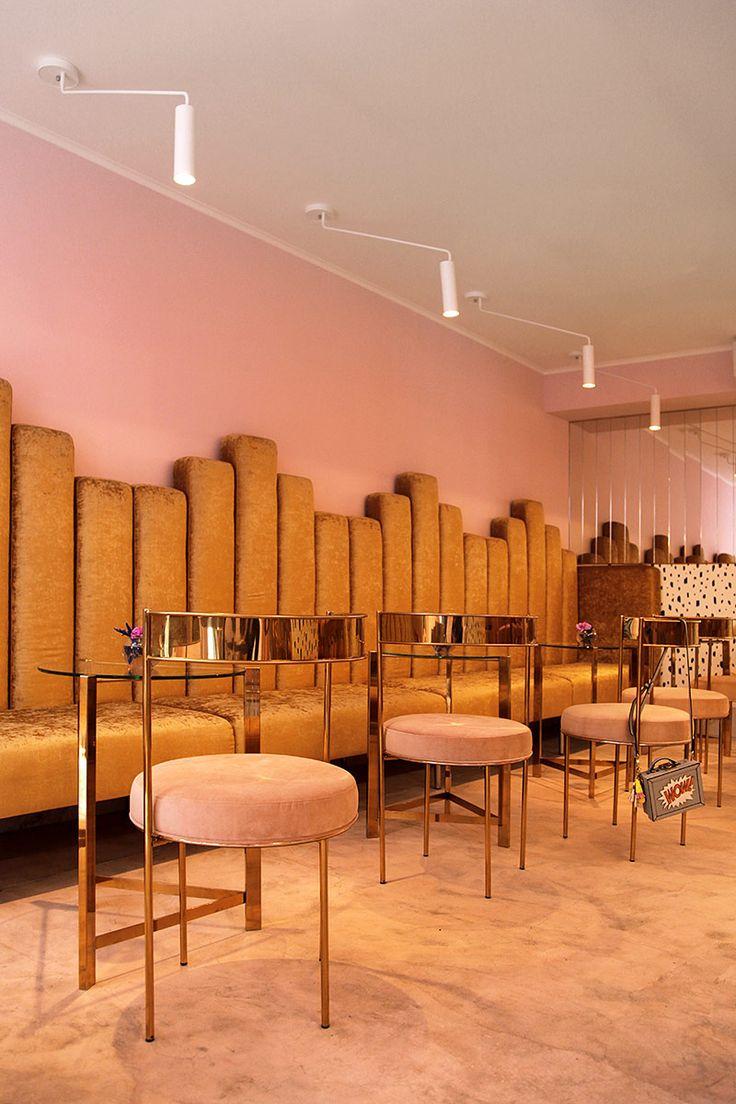 La esencia festiva y burbujeante del vino fue la inspiración y del lugar chic.   Galería de fotos 4 de 11   AD MX