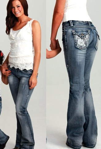 cowgirl tuff lacey jeans, sexy jeans, lacey back, lace denim, cowgirl lace
