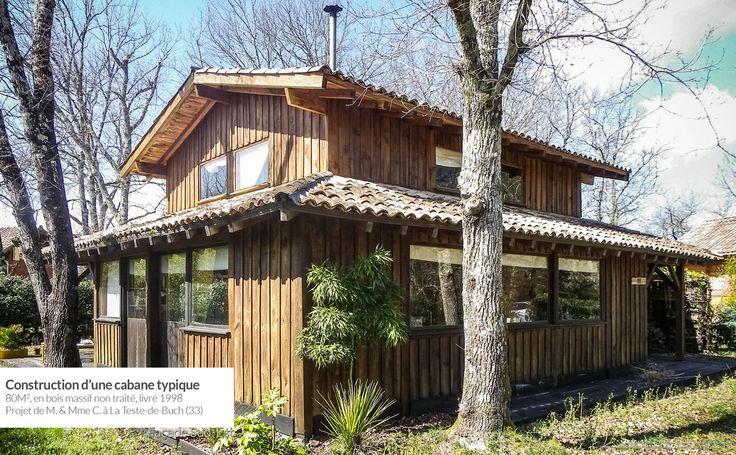 Authentique cabane en bois La Teste de Buch