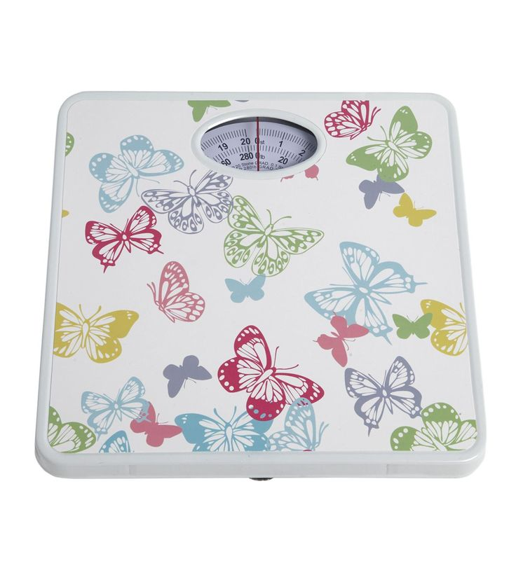 £3.99 Studio Image for Butterfly Bright Bathroom Scales from studio