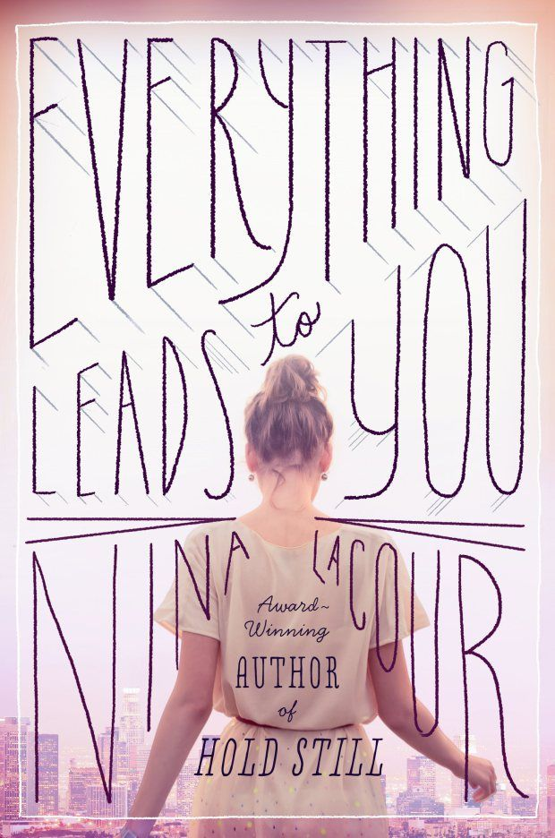 love the combination of beautiful photography and hand-lettering... design by Theresa Evangelista...