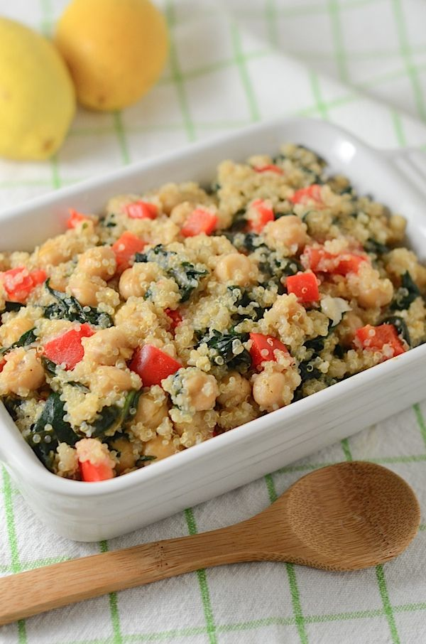 ... Quinoa Salad with Chickpeas | Recipe | Quinoa Salad, Quinoa and Warm