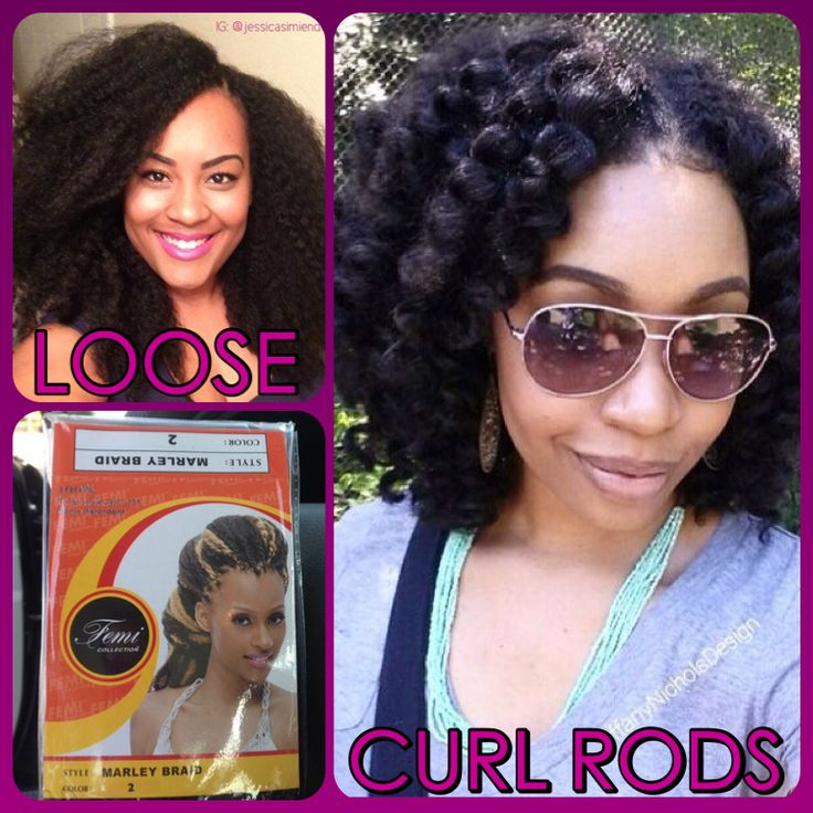 LOVE THE LOOK OF FEMI MARLEY HAIR FOR CROCHET BRAIDS...LOOSE AND CURLED!! Amazing!!!