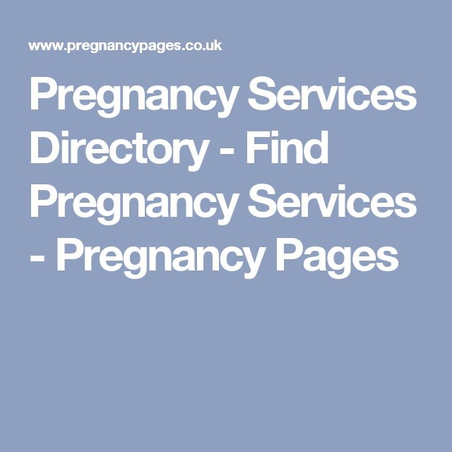 Pregnancy Services Directory - Find Pregnancy Services - Pregnancy Pages
