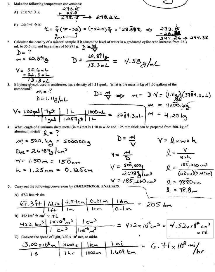 11+ 8Th Grade Density Worksheet With Table Check more