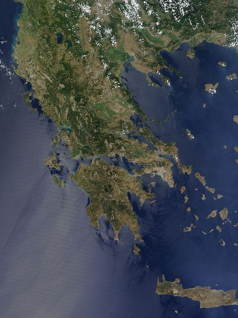 Greece by NASA Goddard Photo and Video, via Flickr