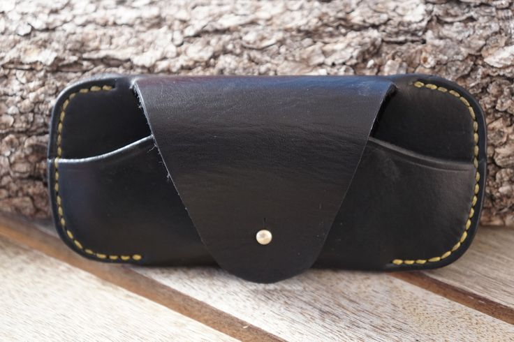 A personal favorite from my Etsy shop https://www.etsy.com/listing/497767912/leather-ray-ban-wayfarer-case-black
