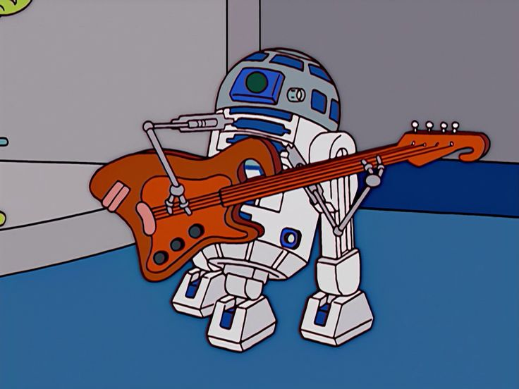 R2-D2 @ The Simpsons™