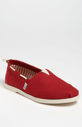 2b0658c5475 Just ordered my first pair of Toms in my favorite color! TOMS  Nautical  Bimini  Boat Shoe (Men) available at Nordstrom