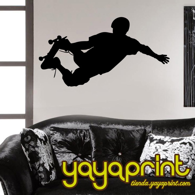 Mejores 35 im genes de skate vinilos decorativos yayaprint for Vinilos decorativos juveniles nina