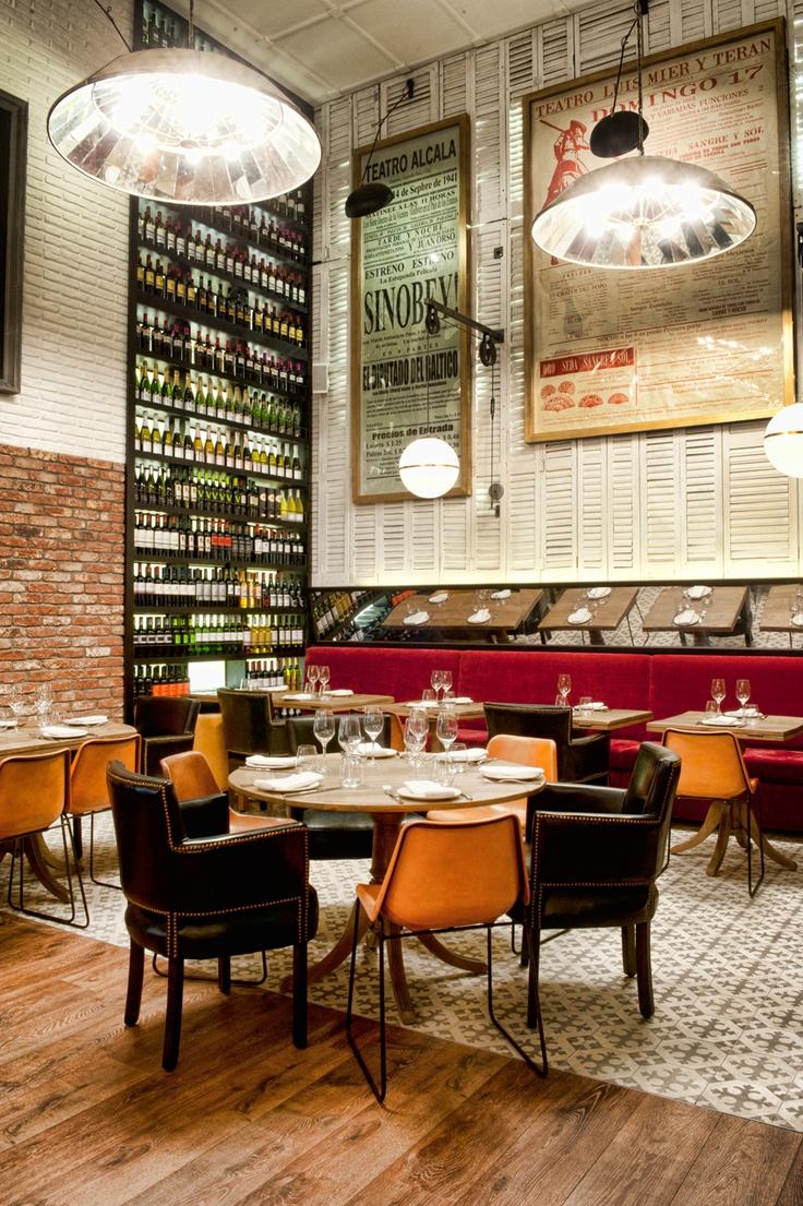 by lazaro rosa violan - Beaded Inset Restaurant Interior