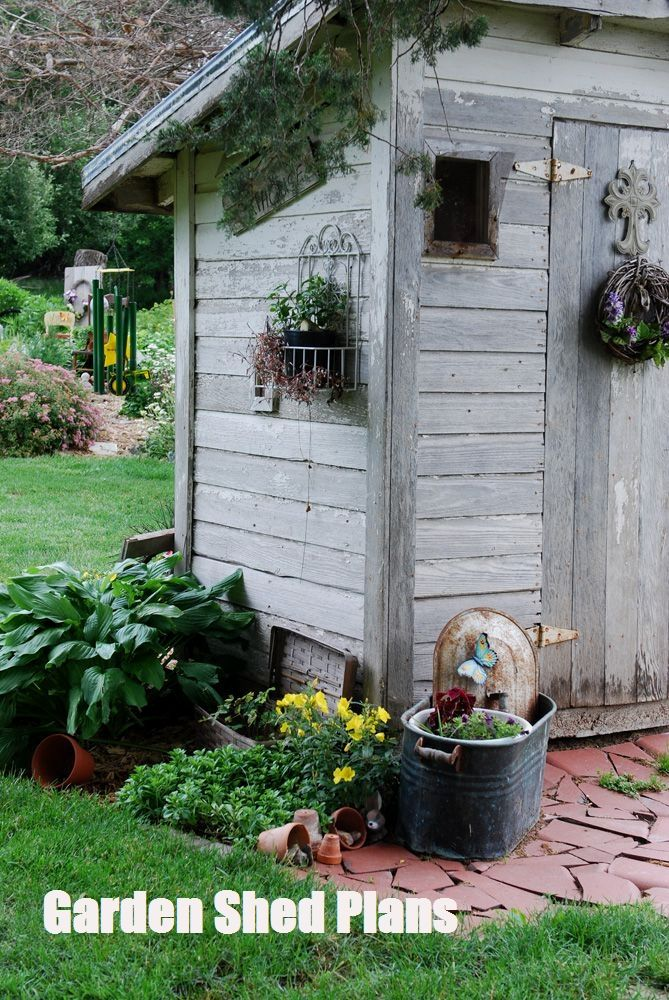 Garden Shed Plans Learn How To Build Your Own Shed Cottage