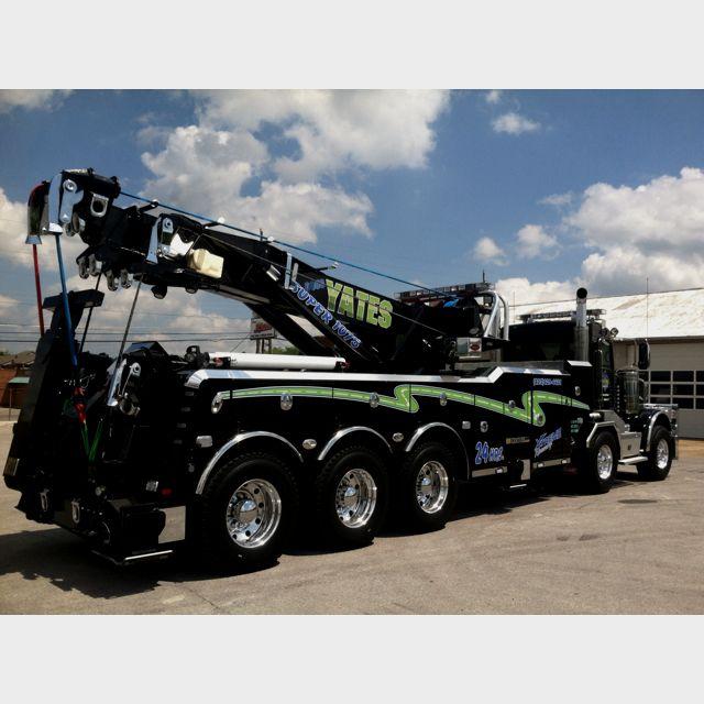75 Ton Rotating Tow Truck