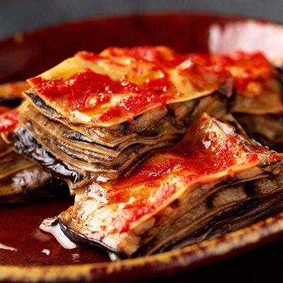 Découvrez la recette Lasagnes aux aubergines sur cuisineactuelle.fr.