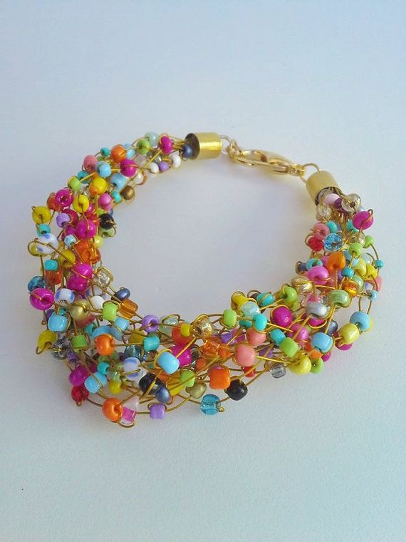 Hey, I found this really awesome Etsy listing at https://www.etsy.com/listing/195700143/design-bracelet-seed-bead-and-wire