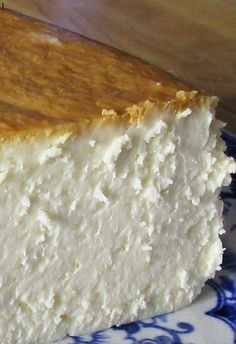 New York Cheesecake | To me, this is the single best cheesecake I have ever had.  I discovered this in Jim Fobel's cookbook about 5 years ago, and it is the one I return to again and again.  It is creamy smooth, lightly sweet, with a touch of lemon.