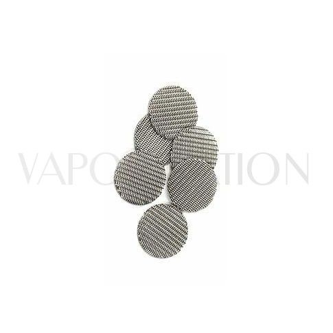 http://www.vapornation.com/iolite-wispr-mesh-screens.html       A six pack of fine double woven mesh screens for the Iolite and WISPR vaporizers.      These screens are used the same way as our standard spare screens but they have been designed to block small particles being inhaled from the iolite vaporizer.