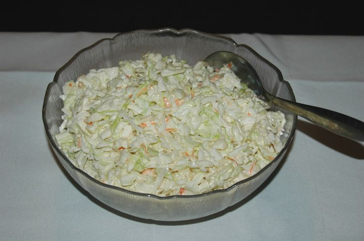 Coconut oil Coleslaw