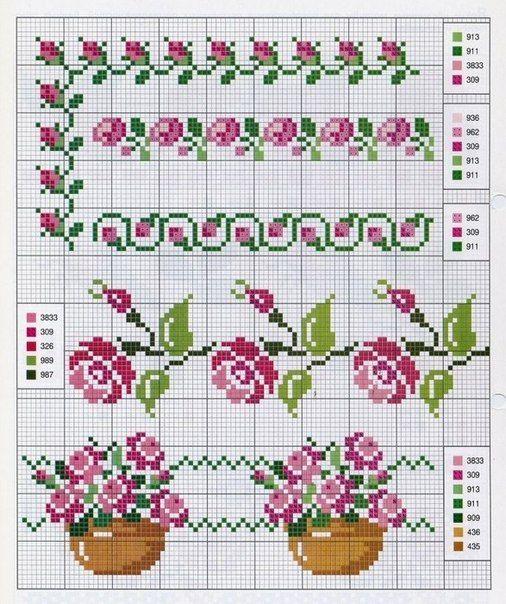 Motivos de flores en punto de cruz05