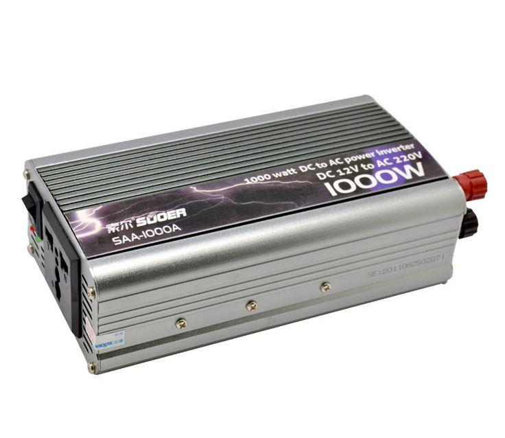 Nama : Power Inverter 1000 watt Merk : TBE Tipe : 1000 watt Status : Siap Berat Kirim : 1 kg  Power Inverter 1000 watt adalah alat untuk mengubah arus DC pada battery mobil menjadi arus AC sesuai kebutuhan di pengendara mobil, daya maximal yang dihasilkan 1000 watt.