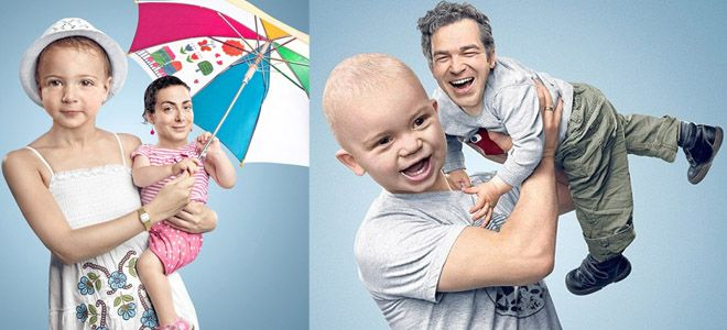 15 Funny Photo manipulations - Parents switch heads with their children