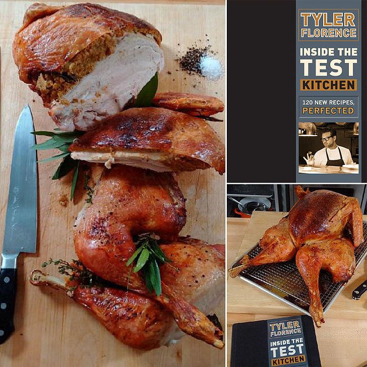 Tyler Florence's New Way to Cook Turkey Will Blow Your Mind. 16 pounds, fully cooked in 1 1/2 hours!!