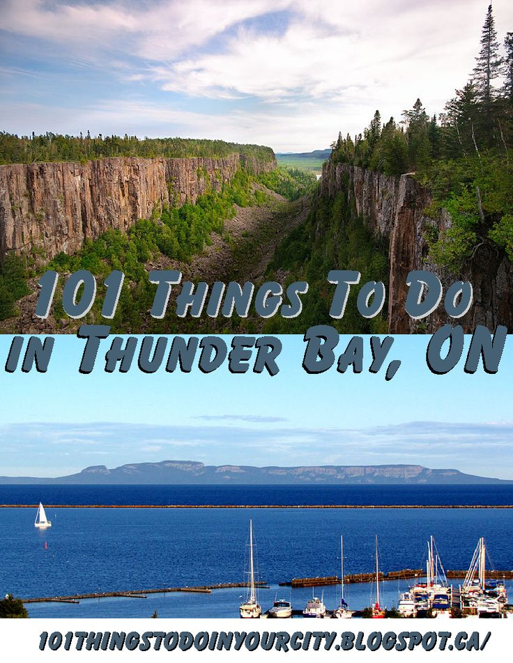 101 Things to do in Thunder Bay, Ontario