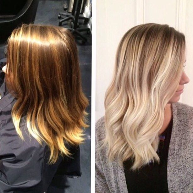 The 25 best heavy highlights ideas on pinterest heavy blonde blonde for fall gorgeous olaplex transformation by her formula below step one full foil of heavy highlights using loreal studio blonde with 30 vol and pmusecretfo Image collections