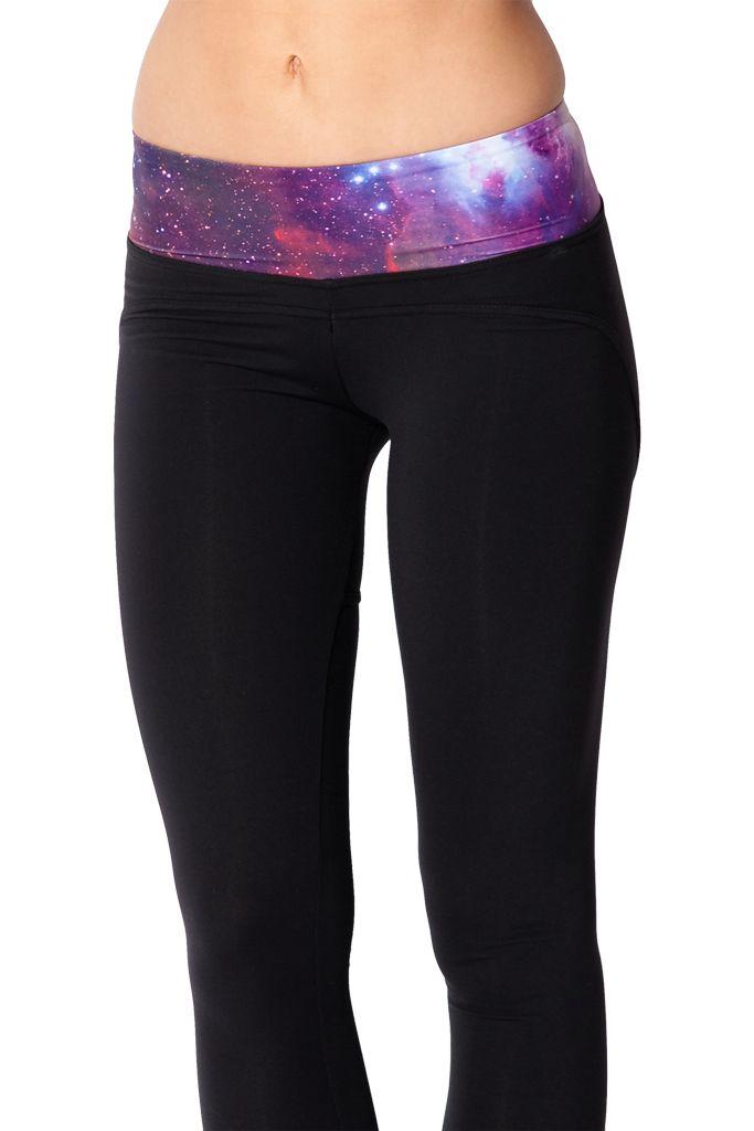 Galaxy Purple Yoga Pants Yoga pants, Pants, Clothes