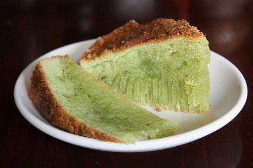 Pandan Coconut Tapioca Cake...Wonder if I can make this for Auntie