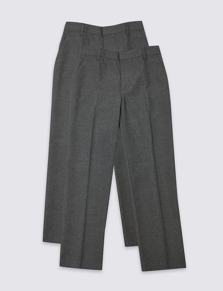 m&s school trousers