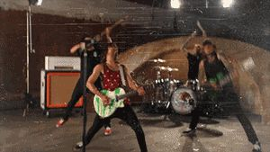 A GIF with the ability to make Pierce the Veil seem metal