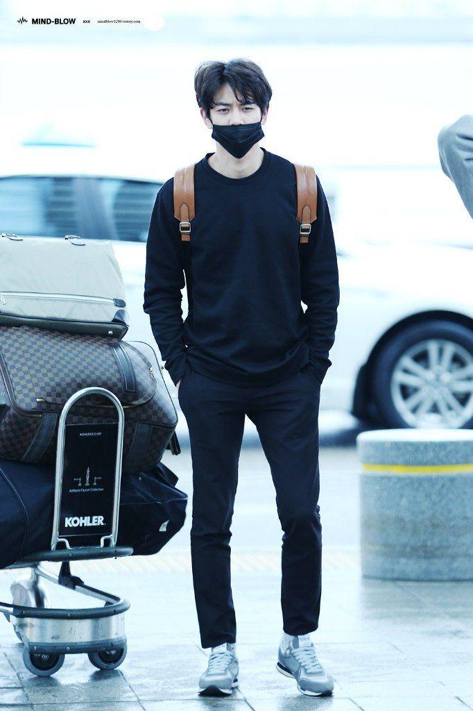 160506 #Minho #Shinee - Incheon Airport to Canada
